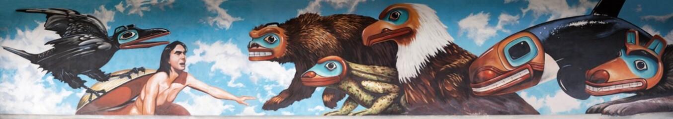 Alaskan Mural