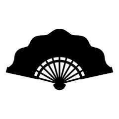 Folding fan, shade picture
