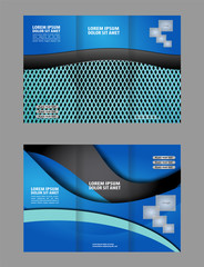 brochure folder leaflet abstract element