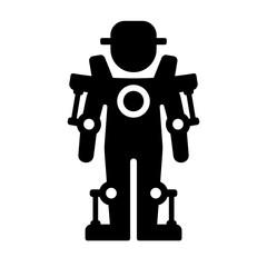 Exoskeleton Icon. Vector
