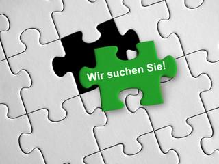 Wir suchen Sie Puzzle