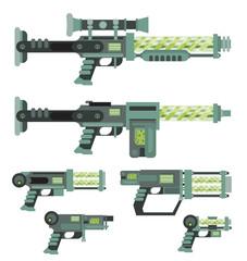 Futuristic Sci-Fi weapons
