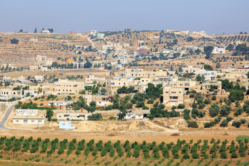 View on Palestinian village