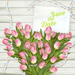 Wedding Invitation Cards. EPS 10