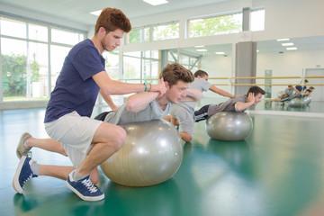 gym assistance