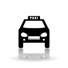 taxi icon design, vector illustration