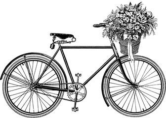 Vintage image bicycle