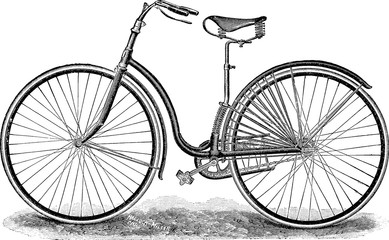 Vintage image bicycle