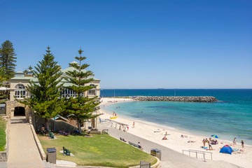 Cottesloe Beach in the city of Perth in Western Australia