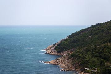 Sea coast in Thailand