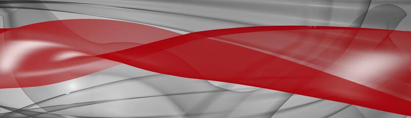 Obraz Czerwona szarfa - fototapety do salonu
