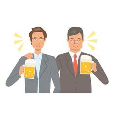 ビジネスマン 乾杯