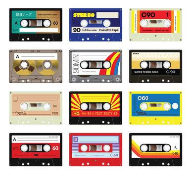 Vintage cassette tapes vol 3