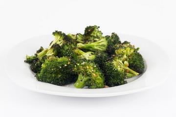 garlic parmesan broccoli side