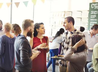 Diversity Friends Meeting Community Discussion Concept