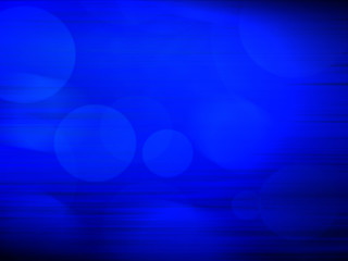 Digitally generated image of blue  background