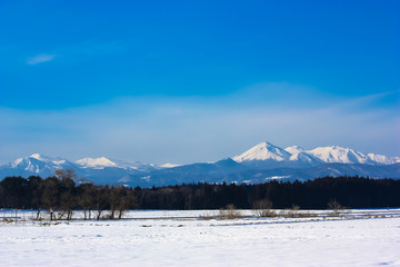 Beautiful Hakkoda Mountains in Northern Japan's Aomori Prefecture