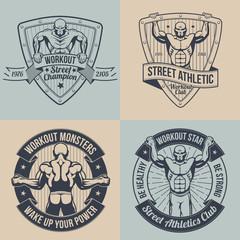 Emblem street workout