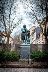 Denkmal des deutschen Komponisten Johann Sebastian Bach