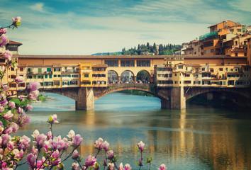 Photo sur Plexiglas Florence Ponte Vecchio, Florence, Italy