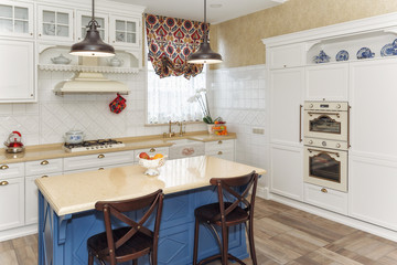 Kitchen in the magnificent house