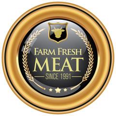 farm fresh meat icon