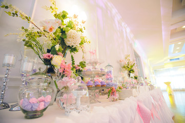Flowers at Candy Bar