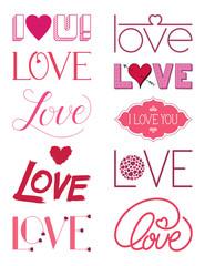 Love Design Elements Three