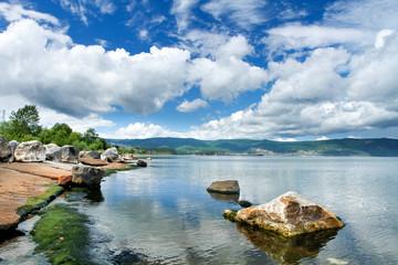 Coast of Lake Baikal