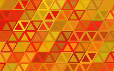 Background with Triangular Mosaic
