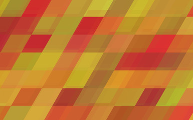Background with Color Rhombuses