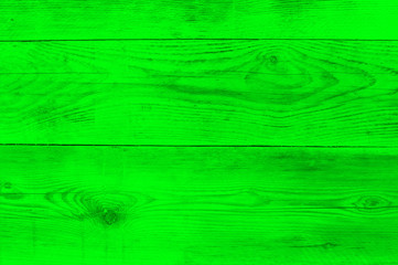 Neon green wood texture as background texture