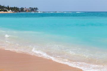 Beautiful turquoise ocean