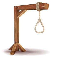 Gallows With Hangman's Rope