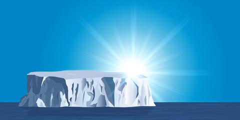 Iceberg - environnement