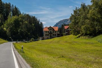 Panorami dell'Engadina, Cantone dei Grigioni, Svizzera