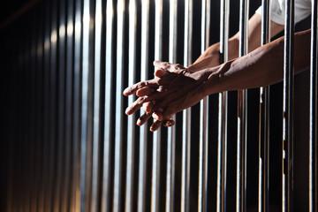 prisoner in jail