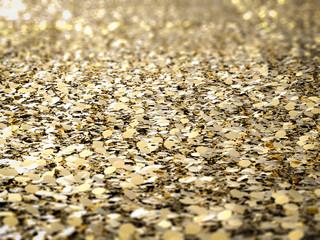 gold flake glitter background