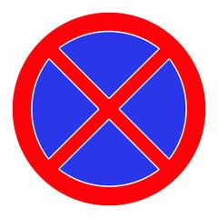 Fototapeta Zakaz parkowania obraz