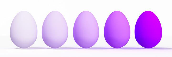 Color eggs, ester