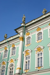 View of the Winter Palace.
