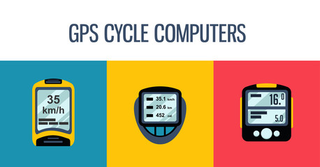 gps computers and apps for bike and cycling