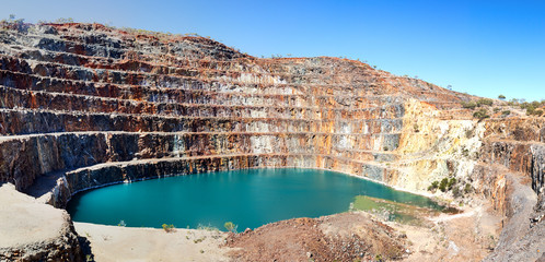 Mary Kathleen mine near Mount Isa