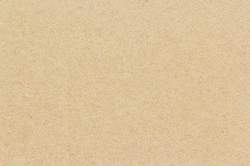 Brown cardboard background or texture