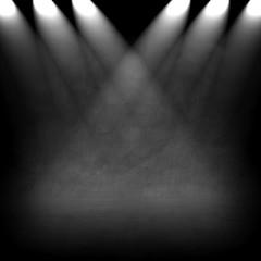 dark wall with spotlight background