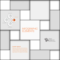 Grid Layout Elements #Vector Background