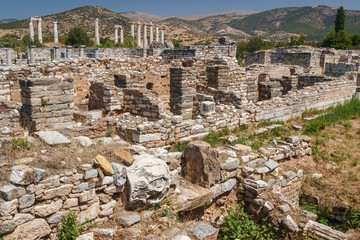 Ruins of the ancient city of Aphrodisias, Turkey