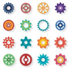set of cogwheel
