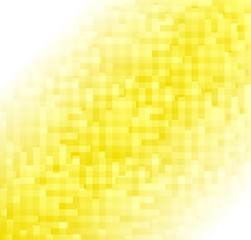 Simple geometric yellow texture