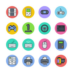 Devices icons